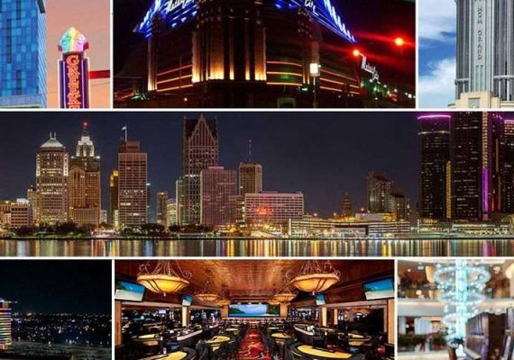 March Gaming Revenue Record High for Detroit