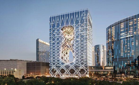 City of Dreams Casino Resort in Macau, China