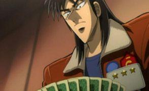 Scene from Gambling Apocalypse Kaiji