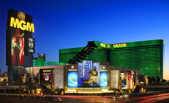 MGM Grand Las Vegas Casino Resort in Nevada, USA