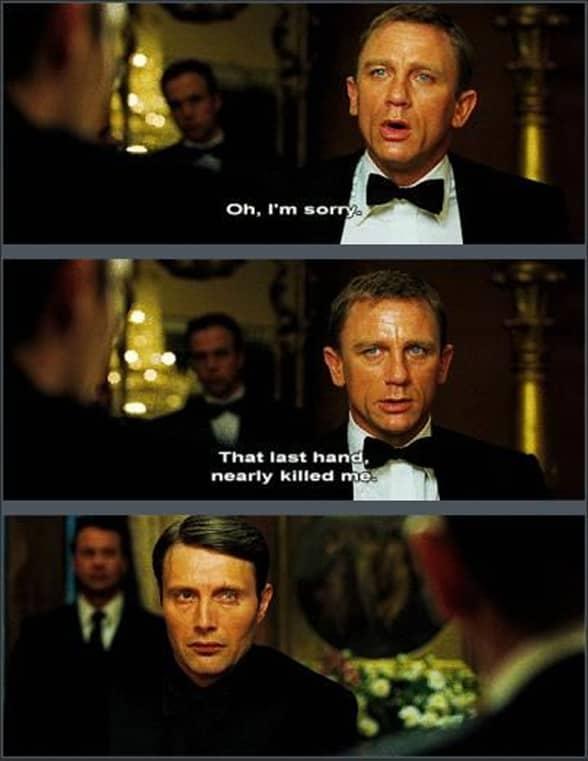 James Bond Casino Royale meme