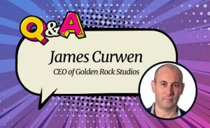 Golden Rock Studios' James Curwen: 'We have a true understanding of customers'