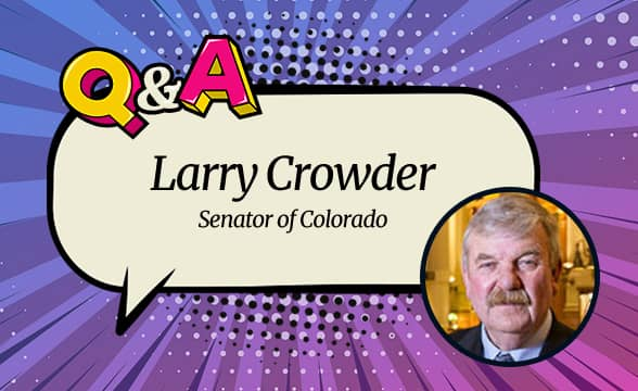 Sen. Larry Crowder on Sports Betting in Colorado