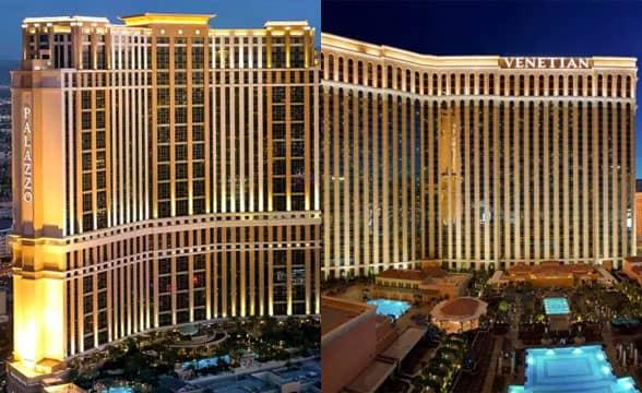 The Venetian and Palazzo Las Vegas USA