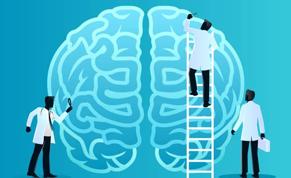 How does gambling addiction affect the brain