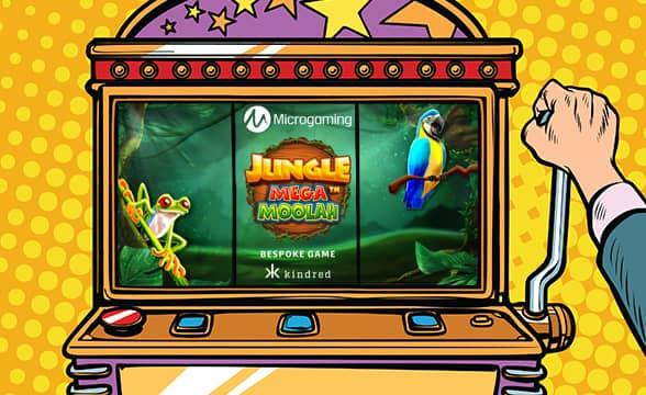 Kindred Group Launches Microgaming's Jungle Mega Moolah