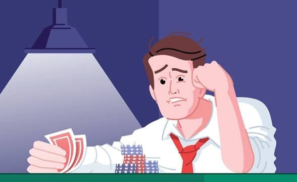 Signs and symptoms of problem gambling
