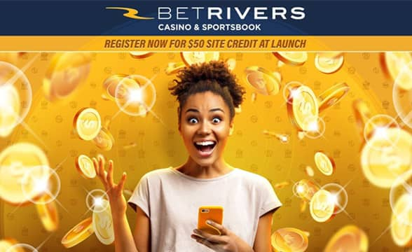 BetRivers - register now for $50 free credit