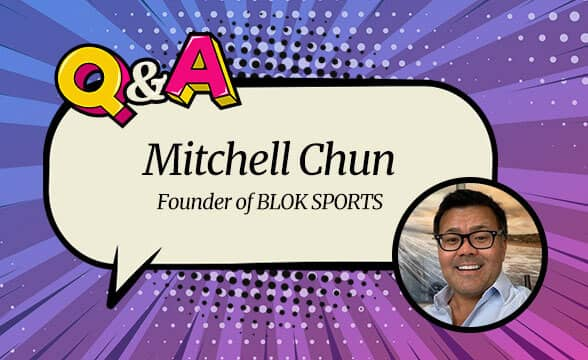 """BLOK SPORTS Founder Mitchell Chun: """"Leveling the Playing Field for Sports Bettors using Blockchain"""""""