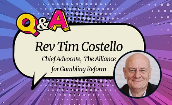 AGR Rev Tim Costello on the Role of Cashless Cards in Tackling Gambling Addiction and Money Laundering