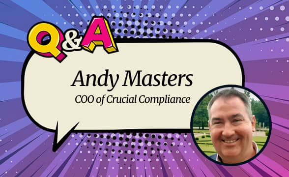 """Crucial Compliance COO Andy Masters: """"We Understand How to Interlace Responsible Gambling with What Customers Need"""""""