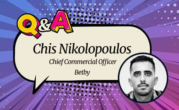 """Betby CCO Chis Nikolopoulos: """"We Listen to Operators Needs and Exceed Expectations"""""""