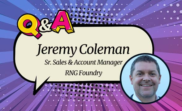 """RNG Foundry's Jeremy Coleman: """"My Ambition Is to Make Individual Studios Become Well-respected in Very Competitive Marketplace"""""""