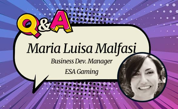 """ESA Gaming Maria Malfasi: """"We're Proud of the Innovation and Creativity We Bring to the Table"""""""