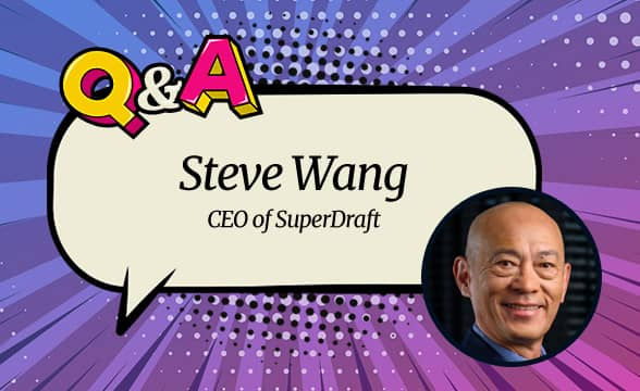 """SuperDraft CEO Steve Wang: """"In a National Landscape Overpopulated by Real Money Books, Social Bettors Are Looking for Alternatives"""""""