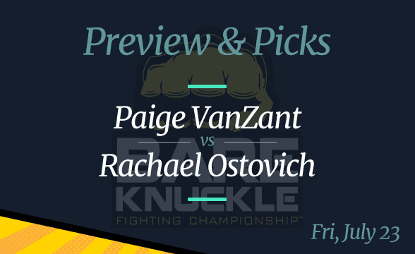 BKFC 19 Odds: VanZant Tipped as Favorite against Rachael Ostovich