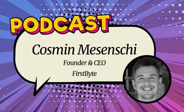 GamblingNews Talks with FirstByte Founder and CEO Cosmin Mesenschi