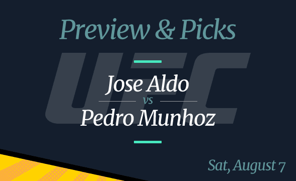 UFC 265 Jose Aldo vs Pedro Munhoz Odds, Picks and Prediction