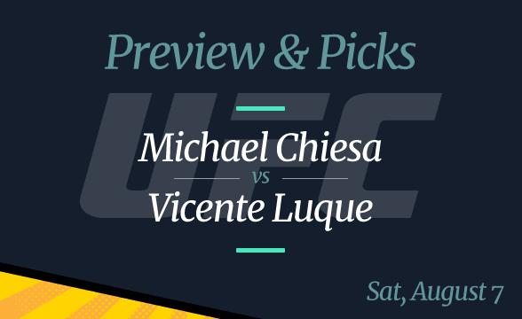 UFC 265 Chiesa vs. Vicente Odds, Picks and Prediction