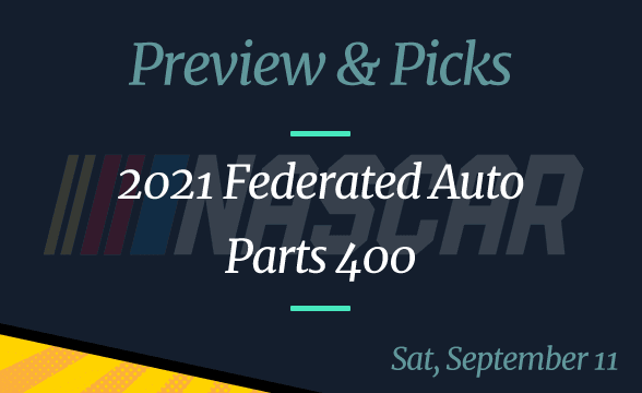 NASCAR 2021 Federated Auto Parts 400: Odds, Date, Time