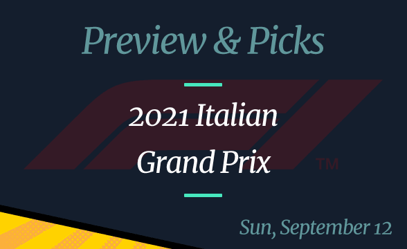 2021 Italian Grand Prix: Odds, Date, Time, and Where to Watch