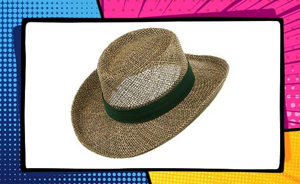 MG Gambler Straw Hat