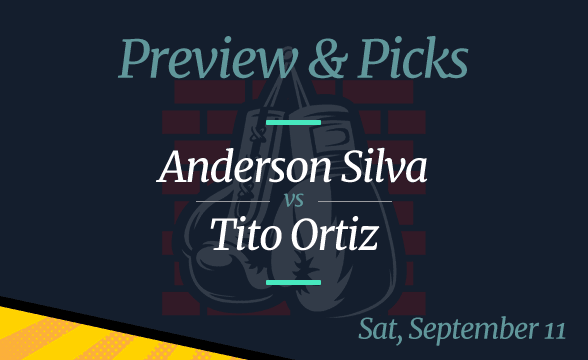 Anderson Silva vs Tito Ortiz Odds, Date, Time and Where to Watch