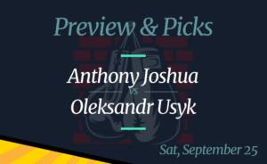Anthony Joshua vs Oleksandr Usyk Fight Date, Odds, Where to Watch