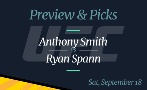 UFC Vegas 37: Anthony Smith vs Ryan Spann Odds, Time, Where to Watch