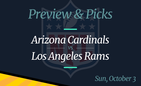 NFL Week 3: Cardinals vs Rams, Time, Odds