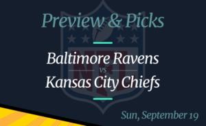 NFL Week 2: Chiefs vs Ravens, Time, Odds