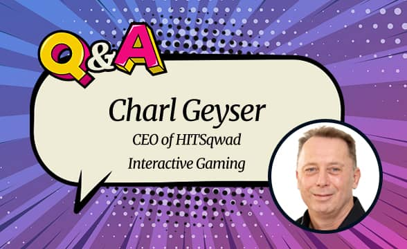 """HITSqwad CEO Charl Geyser: """"Jackpot Innovation Is Our Single Most Important Goal"""""""