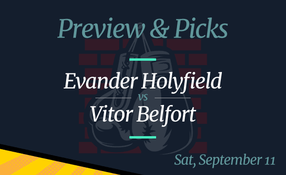 Vitor Belfort vs Evander Holyfield Odds to Win, Time and Date