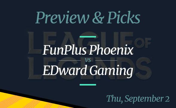 LPL Summer Playoffs FunPlus Phoenix vs Edward Gaming Odds, Picks, Preview