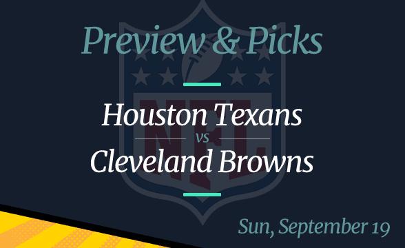 NFL Week 2: Texans vs Browns, Time, Odds
