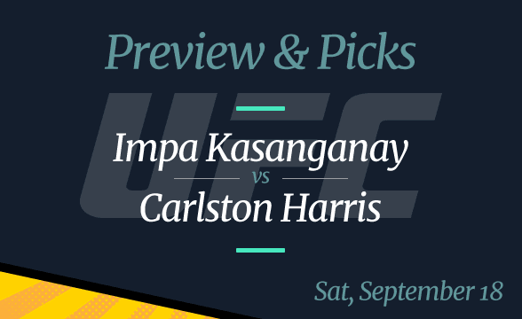 Impa Kasanganay vs Cariston Harris Odds, Time, Where to Watch, and Pick