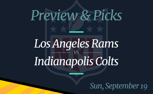 NFL Week 2: Rams vs Colts, Time, Odds