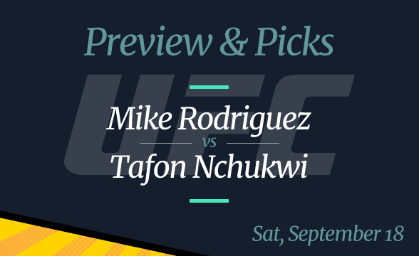 UFC Vegas 37: Mike Rodriguez vs Tafon Nchukwi Odds, Time and Where to Watch