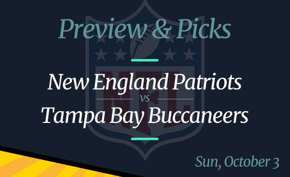 Buccaneers vs Patriots NFL Week 4 Odds, Time and Prediction