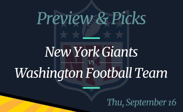 NFL Week 1: Giants vs WFT, Time, Odds