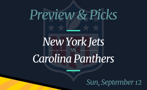 NFL Week 1: Jets vs Panthers Date, Time, Odds