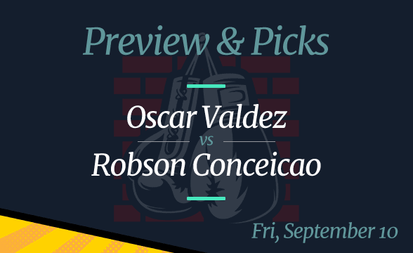 Oscar Valdez vs Robson Conceicao Odds, Date, and Where to Watch