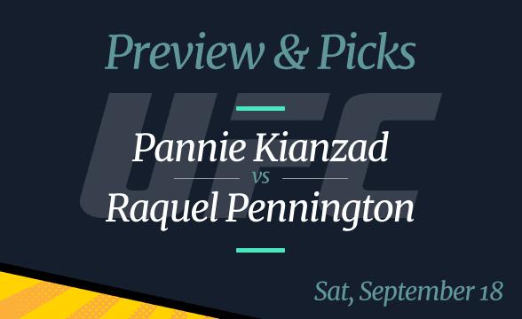 Pannie Kianzad vs Raquel Pennington: Odds, Time, Date, Where to Watch
