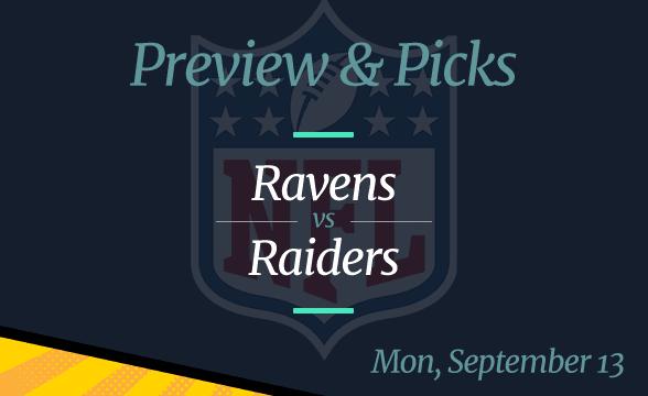 Raiders vs Ravens, NFL Week 1: Date, Time, Odds