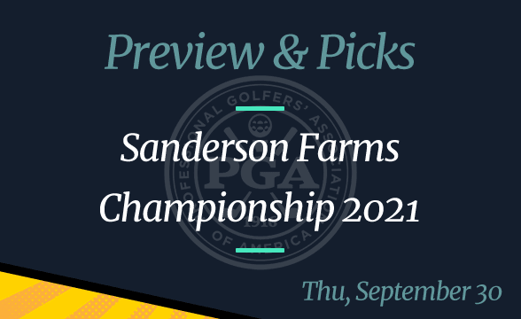 2021 Sanderson Farms Championship Odds, Time, Date