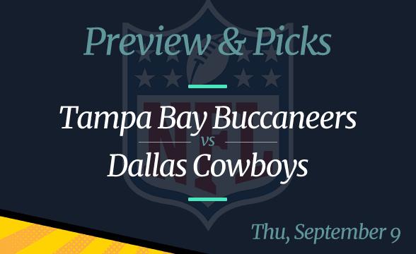 Cowboys vs Buccaneers, NFL Week 1: Date, Time, Odds