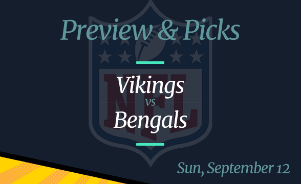 NFL Week 1, Vikings vs Bengals: Preview, Date and Odds
