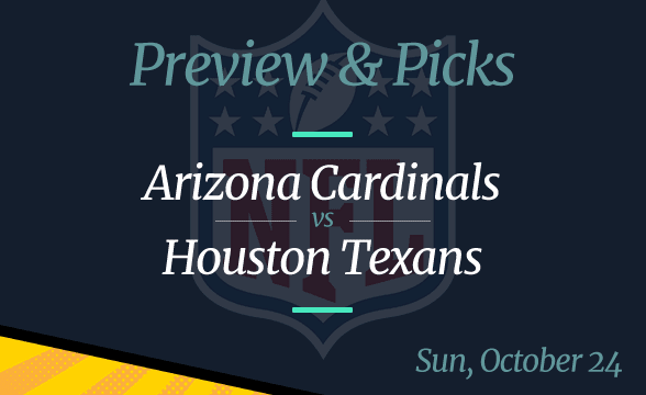 Texans vs Cardinals NFL Week 7 Odds, Time, and Prediction