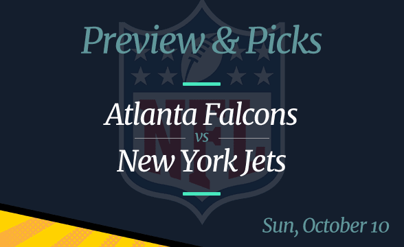 Jets vs Falcons NFL Week 5 Odds, Time, and Prediction