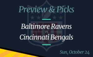 Bengals vs Ravens NFL Week 7 Odds, Time, and Prediction